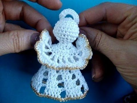 Ángel tejido a crochet amigurumi (Parte 1) - YouTube