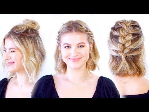 Super Cute Short Hairstyles Youtube Cute Hairstyles For Short Hair Short Hair Styles Easy Really Short Hair