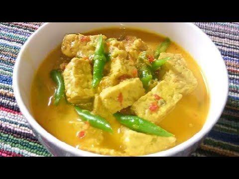 Resep Gulai Tempe Sayur Buncis Yang Super Enak Banget Youtube Gulai Masakan Resep Masakan