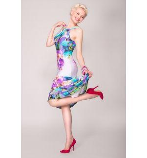 Simone Empire Line Maxi Dress - Arzu Kara