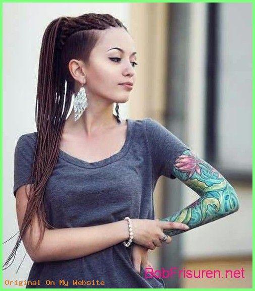 Frauen haare undercut lange Kurze Haare