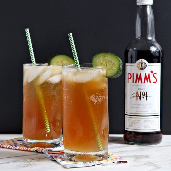 Tart and delicious, the Pimm's Cup is a classic New Orleans cocktail that is perfect and refreshing on a hot summer day.