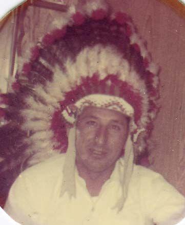Seneca Nation, Clyde Gilbert, my father, Salamanca NY.   1919-2010
