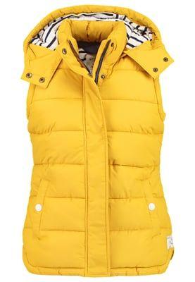 Vestes sans manches Tom Joule WAVELY - Veste sans manches - antgold jaune: 99,95 € chez Zalando (au 02/09/16). Livraison et retours gratuits et service client gratuit au 0800 915 207.