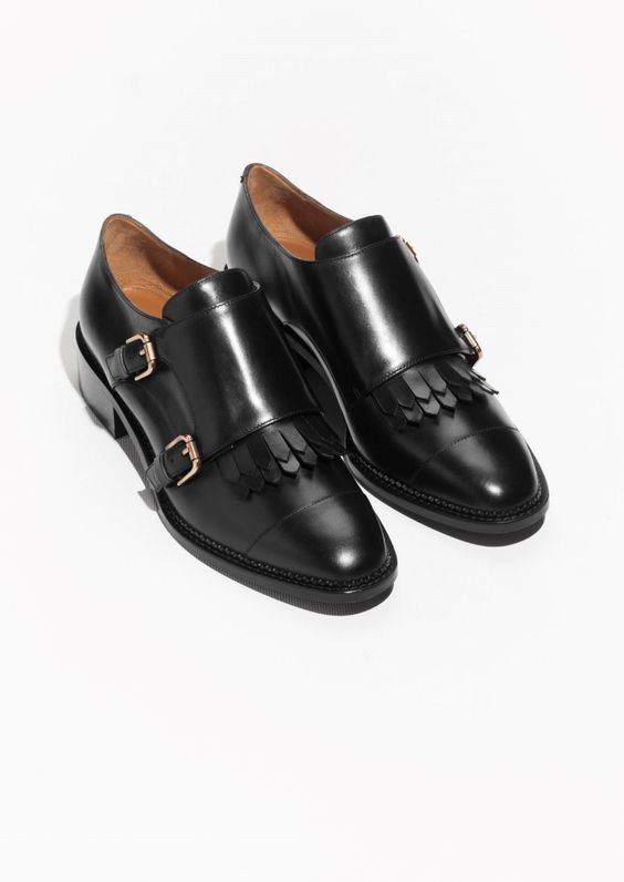 & Other Stories | Monk Strap Low Heel Shoes