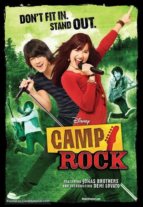2008 Camp Rock Rock Thể Thao Mua He