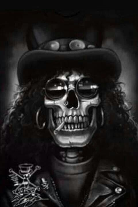 slash skull wallpaper - photo #2