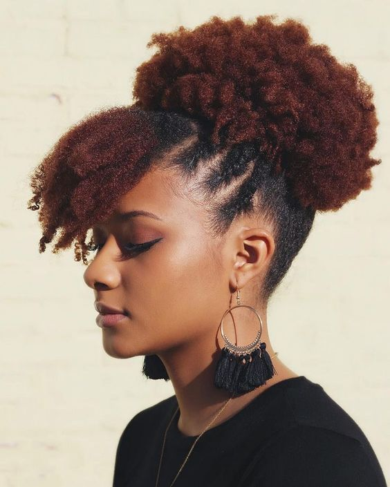 The Most Inspiring Short Natural 4c Hairstyles For Black Women 4c Natural Hair Natural Hair Updo Natural Hair Styles