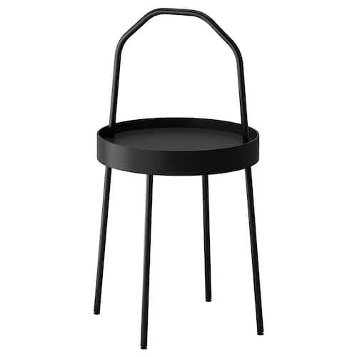 Ikea Burvik Beistelltisch Beistelltisch Beistelltisch Schwarz Ikea Beistelltisch