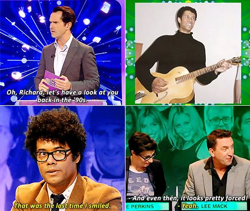 Richard Ayoade in the 90's