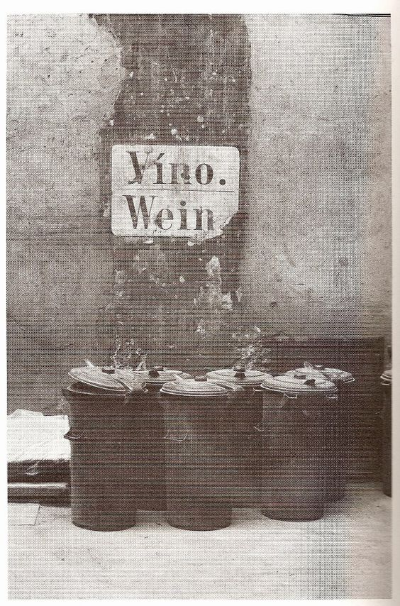 Wine, Prague, 1980 by Vlastimil Třešňák