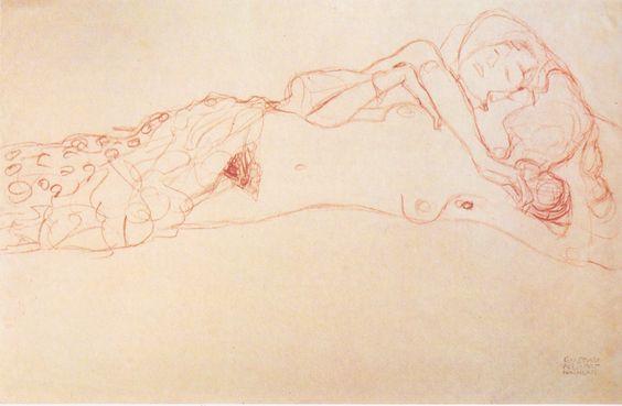 Gustav_Klimt_-_Zwei_auf_dem_Rücken_liegende_Akte_-_ca1906