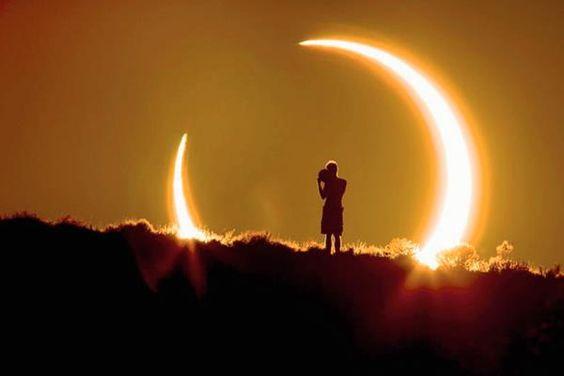 Efectos del eclipse solar del 1 de septiembre https://t.co/LVs4nSE7Px