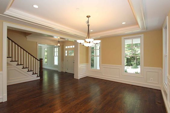 Three brothers land gold traditional entry dr center for Center hall colonial living room ideas