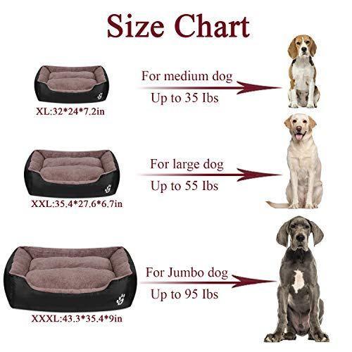 Utotol Warming Dog Beds For Medium Dogs Xxl Large For Large Dog Best Petsep Com Washable Pet Bed Medium Dogs Dog Pet Beds