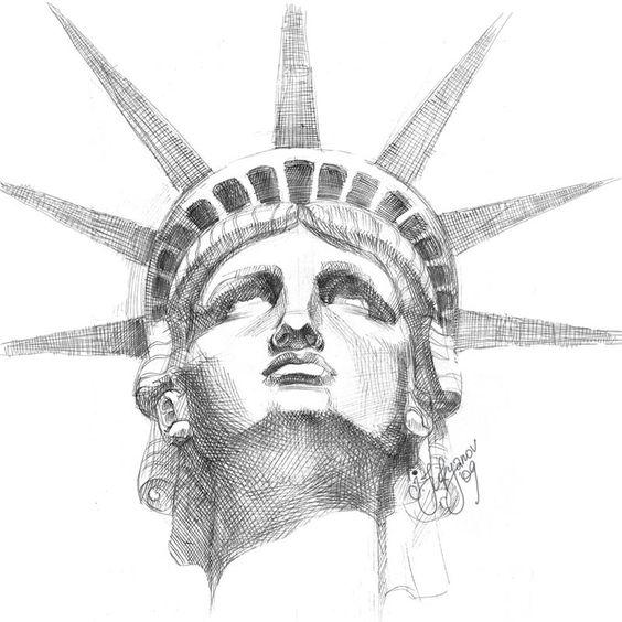Google Image Result for http://3.bp.blogspot.com/-mNhZDmhpU-I/TjrvRCIaewI/AAAAAAAACZc/BT3UgJDT5vM/s1600/statue-of-liberty-face-sketch-drawing.jpg