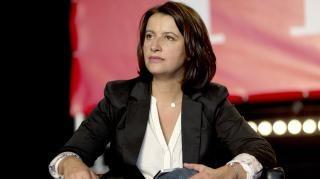 France. La députée Europe Ecologie-Les Verts Cécile Duflot, le 12 septembre 2014 à La Courneuve (Seine-Saint-Denis) pour la fête de l'Humanité. | Kenzo-Tribouillard / AFP