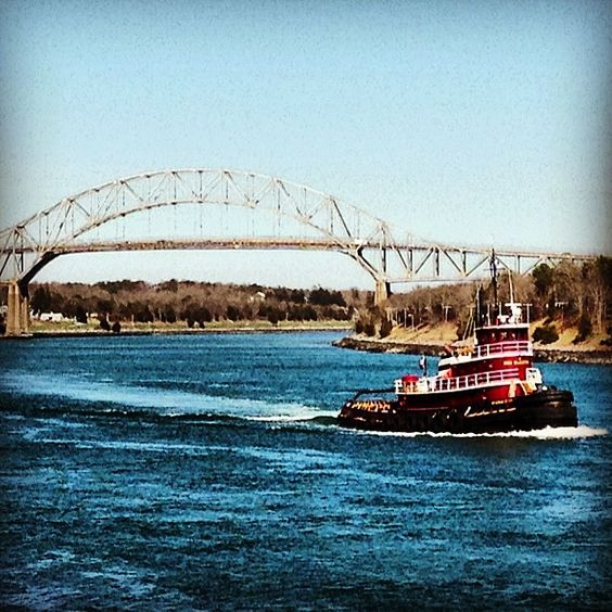 Cape Cod Canal In Barnstable County, MA