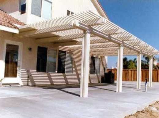 Free Standing Patio Cover Designs House Ideas