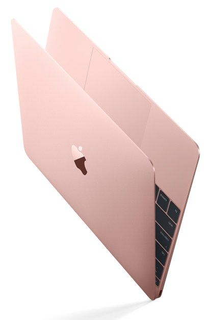 The Rose Gold MacBook Is Officially Here: