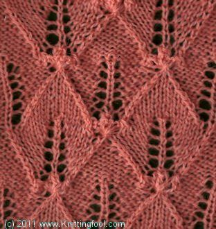 Knitting Nupp Stitch : Nupp Leaves - Knittingfool Stitch Detail Knit Patterns LEAVES Pinterest ...