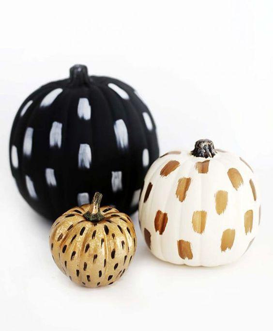10 façons de décorer sa citrouille pour l'Halloween - Pinterest: 10 façons originales de décorer sa citrouille pour l'Halloween