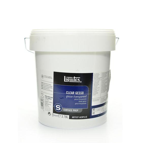 Liquitex Acrylic Clear Gesso