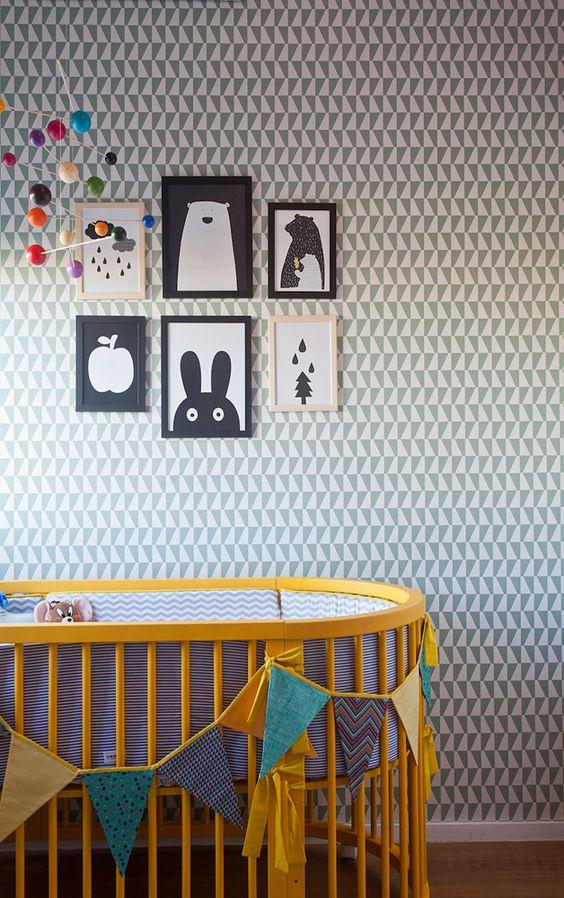 Seleção Hypeness: 10 quartos de bebê com decoração criativa para você se inspirar: