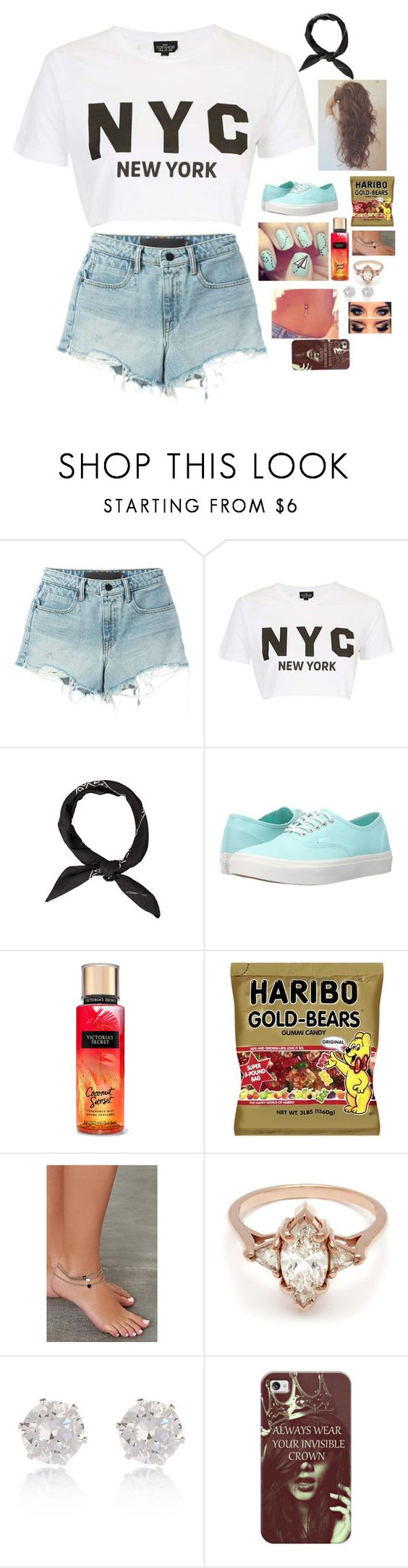 """""""I Wake Up Every Day Like Hello Beautiful """" by maxilicious ❤ liked on Polyvore featuring T By Alexander Wang, Topshop, Vans, BEA, River Island and Casetify"""
