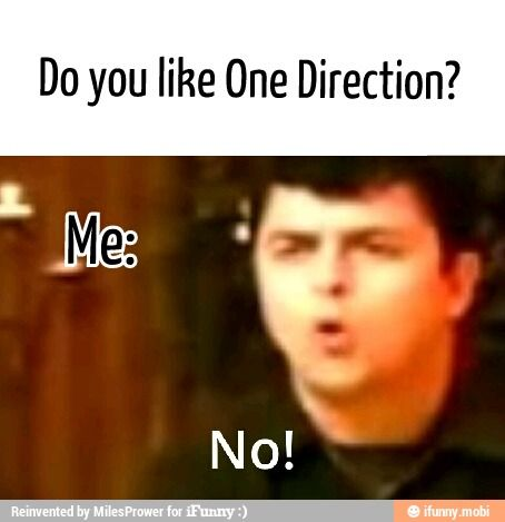 No me gusta One Direction