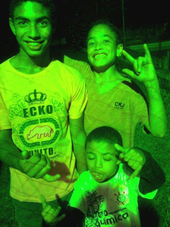 Meus amados sobrinhos, Anselmo, Vini e Amauri... Aaaamoooo...