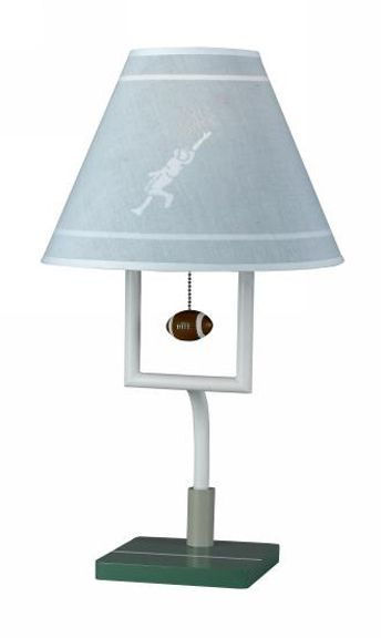 Football, decor, for, kids, football, lamp, baby and kids lighting by All Kids Lamps.