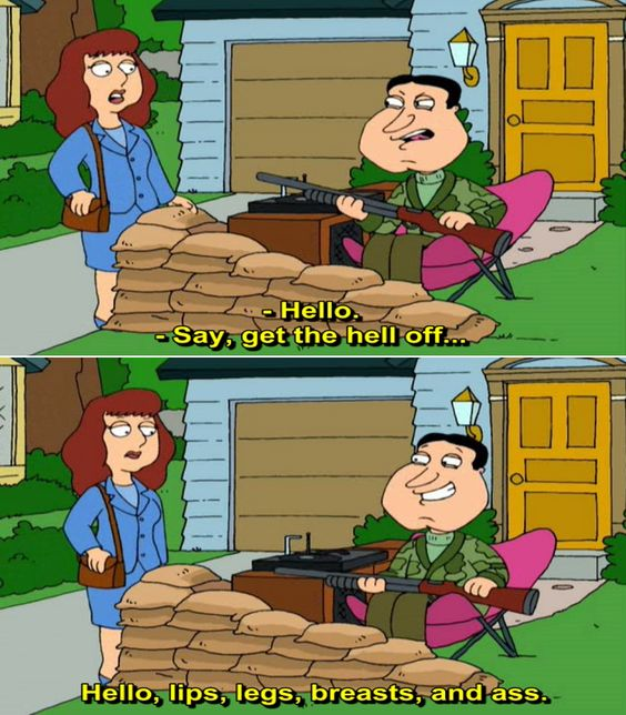family guy meet the quagmires quotes about