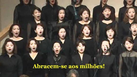 Beethoven 9ª Sinfonia - Parte 3. Tradução e legendas em português.