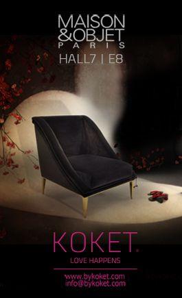 @KOKET Love Happens Love Happens Love Happens at Maison et Objet #best interior design #furniture #emotional design