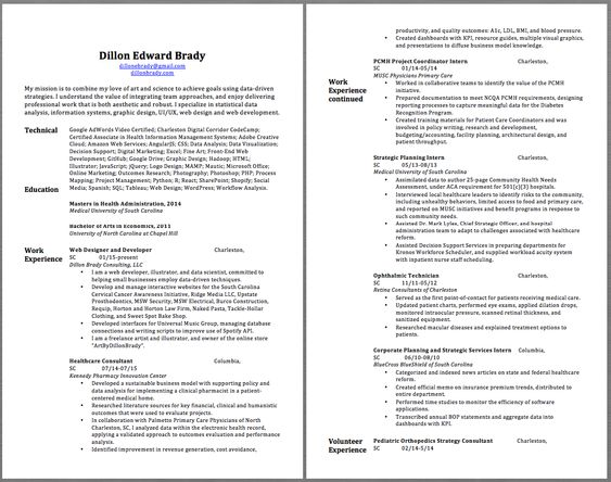 Ophthalmic Technician Resume Samples Dillon Edward Brady - janitor resume