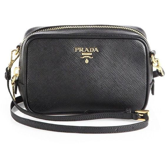 prada white wallet - Prada Saffiano Leather Camera Bag (11,370 MXN) ? liked on ...