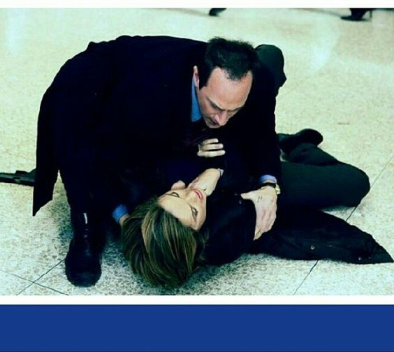 Christopher Meloni with Mariska Hargitay