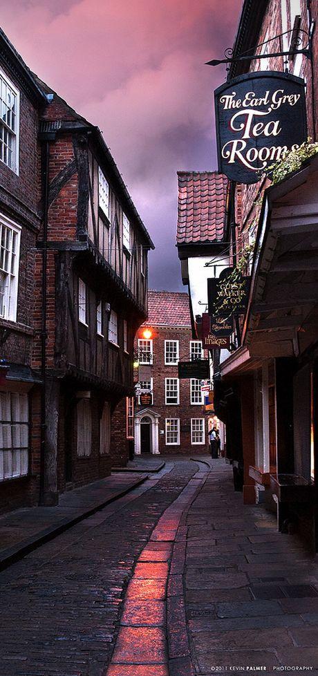 The Shambles (York) - Inglaterra, Reino Unido