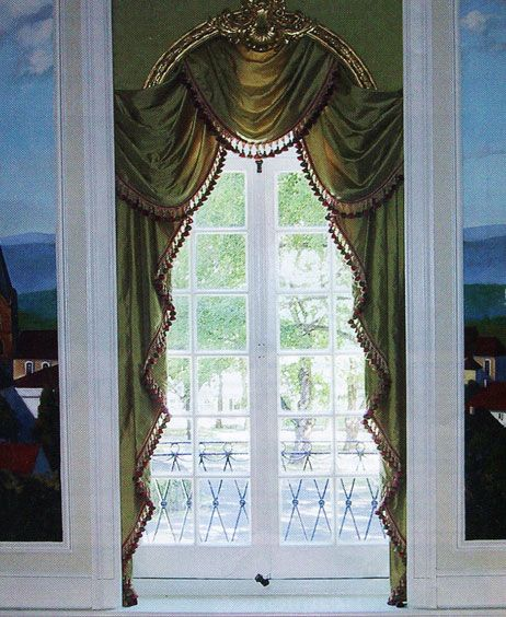 A Pelmet Is A Decorative Stiffened Valance Which May Be Flat Or Have Stiffened Sections Or