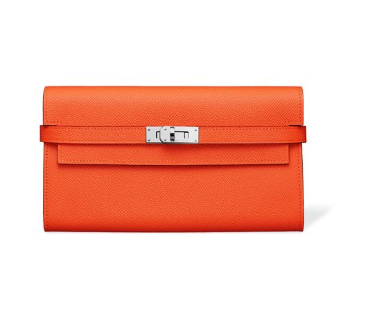 Hermes change purse in Epsom calfskin