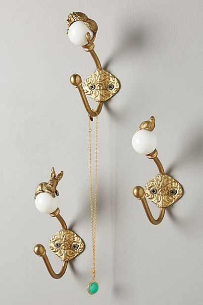 Jewelry Organization. Higher Ground Hook #anthropologie
