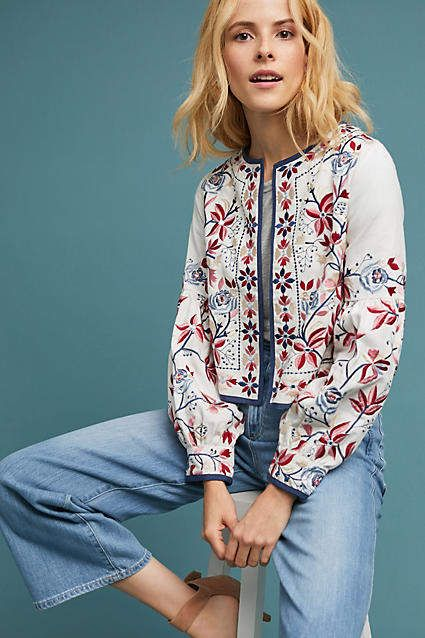 MISA Luce Embroidered Jacket