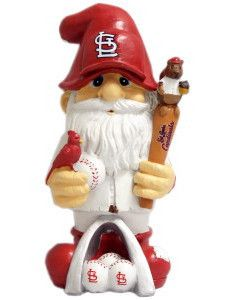 """St. Louis Cardinals Garden Gnome - 11"""" Thematic - Second String"""