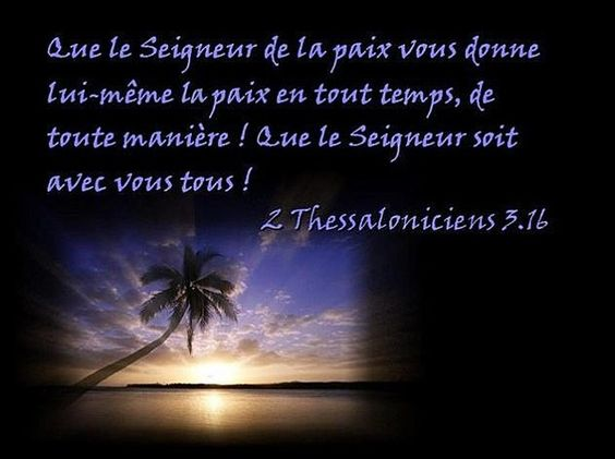 2 THESSALONICIENS  3.16