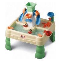 Little Tikes - Zand en watertafel De zon schijnt, het is warm en de kinderen spelen lekker in de tuin. Dit speelgoed past perfect bij dit plaatje. Urenlang speelplezier met deze zand- en watertafel. Laat de figuurtjes vanaf de glijbaan in het water plonzen, laat de speeltjes drijven en maak zandtaartjes. Ieder kind geniet hiervan! http://www.geschiktspeelgoed.nl/product/little-tikes-zand-en-watertafel/