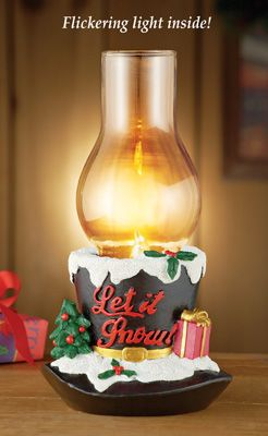 Lighted holiday top hat candle holder indoor christmas decorations pinterest products - Appealing christmas led candles for christmas decorations ...