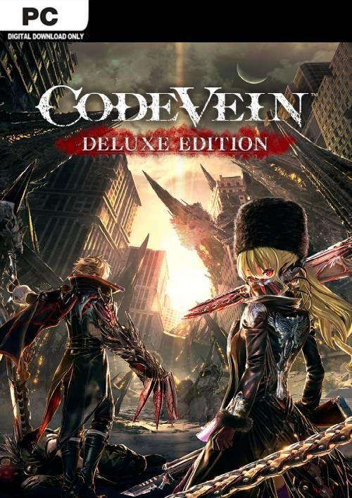 Code Vein Deluxe Edition Pc Digital Download 42 99 Frugal Gaming Https Frugalgaming Co Uk Shop Code Vein Del Bandai Bandai Namco Entertainment Ps4 Games