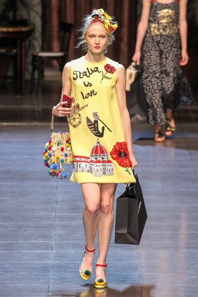 Dolce & Gabbana - Primavera-Verão 2016 - Milan Fashion Week | Sup3rb