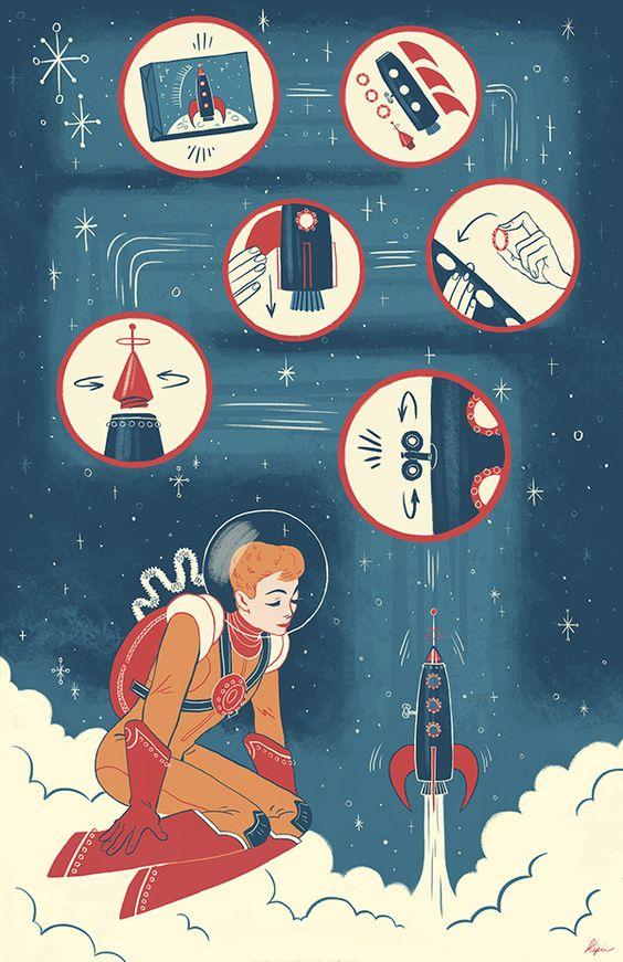 Rocket Ship on Behance